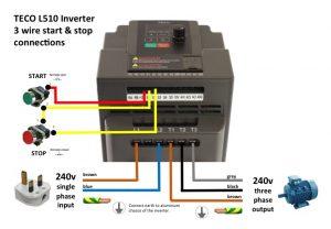 Teco L510 Inverter Wiring Jhw Engineering