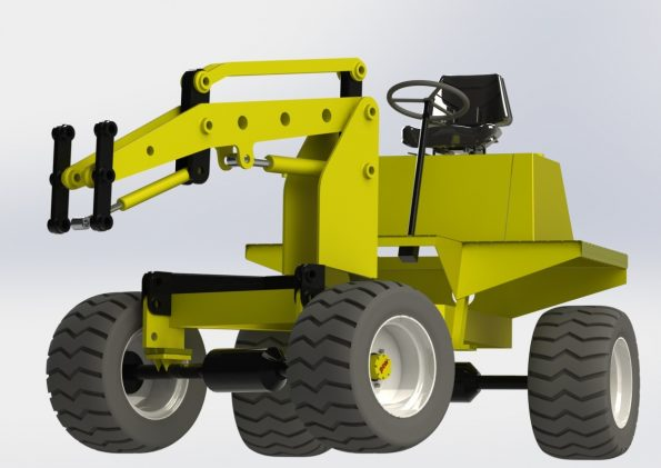 Benford TT200 dumper loader conversion
