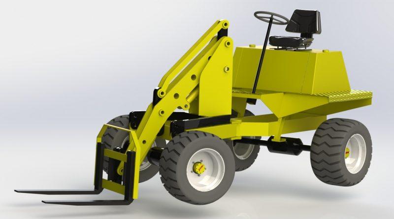 Benford TT200 Dumper Loader